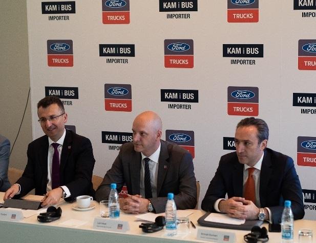 Ford Trucks'ın Slovenya'daki  distribütörü KAM I BUS oldu