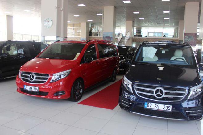 Günde 20 - 25 adet VIP araç piyasadan çıkıyor