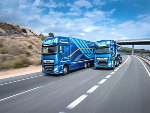Yeni DAF CF ve XF: Slovenya'da 2018 yılının kamyonu