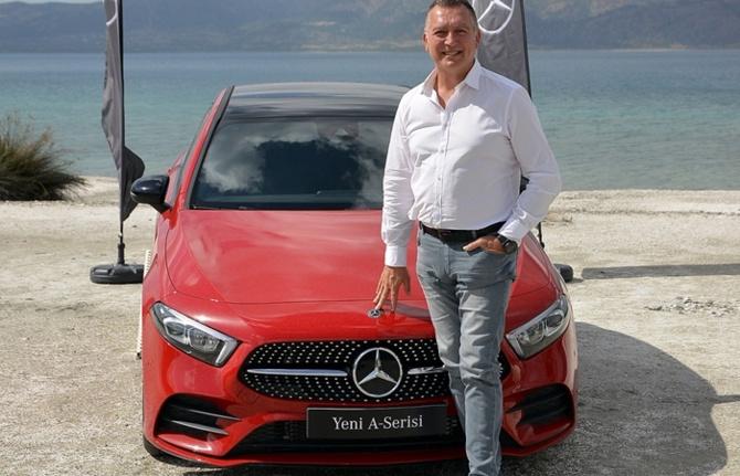 Mercedes'in park halinde hasar alsa uyaran akıllısı Türkiye'de