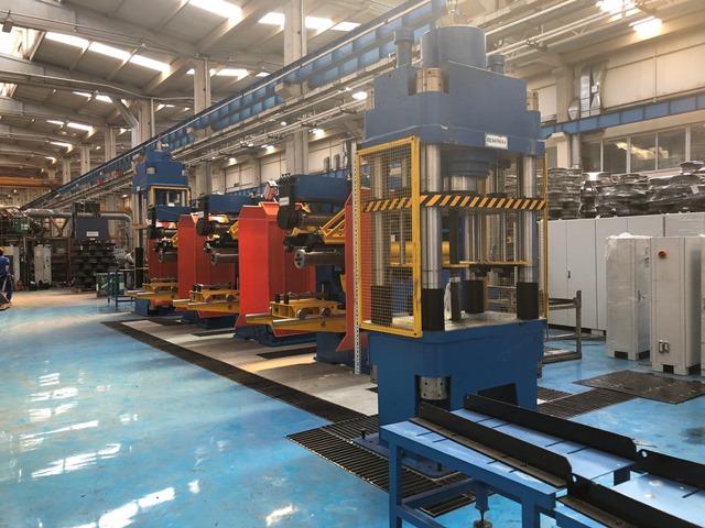 AKO Jant fabrikasına yeni üretim hattı