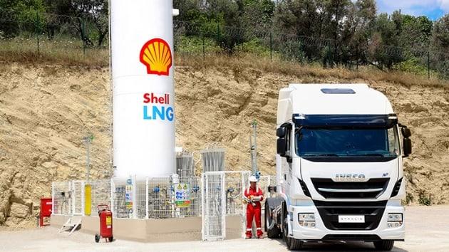 Shell, kamyonlarda LNG dönemini başlattı