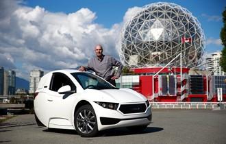 3 tekerlekli elektrikli otomobil: Solo
