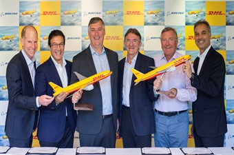 DHL Express'ten 14  yeni Boeing 777 Freighter