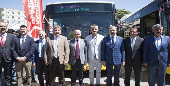 Mercedes-Benz Türk'ten Kayseri Belediyesi'ne 10 körüklü CNG