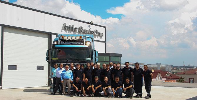 Volvo Trucks yetkili servisi Şekerpınar'da hizmet vermeye başladı
