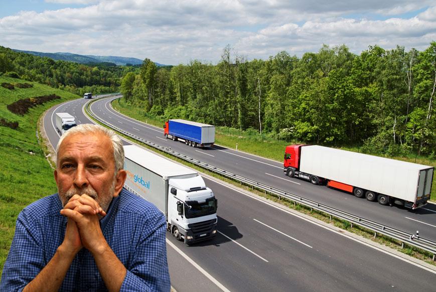 Taşımacılık sektörü de can çekişiyor