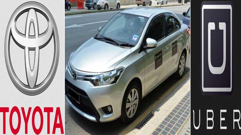Toyota ve Über sürücüsüz araç üretecek