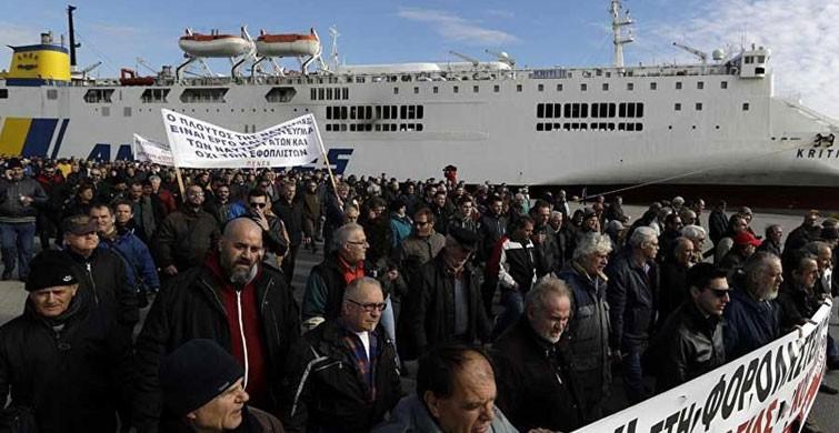 Yunan denizcilerden greve devam kararı