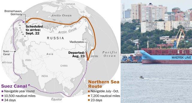 Rusya, Çin-Avrupa yolunu 11 gün kısalttı