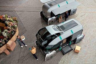 Kişiye özel teslimata robot otomobil çözümü: Renault EZ-PRO