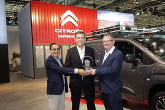 Yeni Citroën Berlingo Van Yılın Ticari Aracı Ödülü'nü kazandı