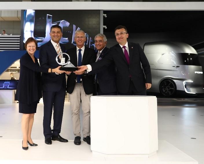 Uluslararası Yılın Kamyonu Türk Ford Trucks F-Max