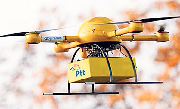 PTT'nin Kargo Drone'u, TEKNOFEST'te