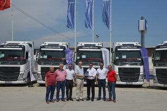 Özçelik Transport yine Volvo Trucks'ı tercih etti
