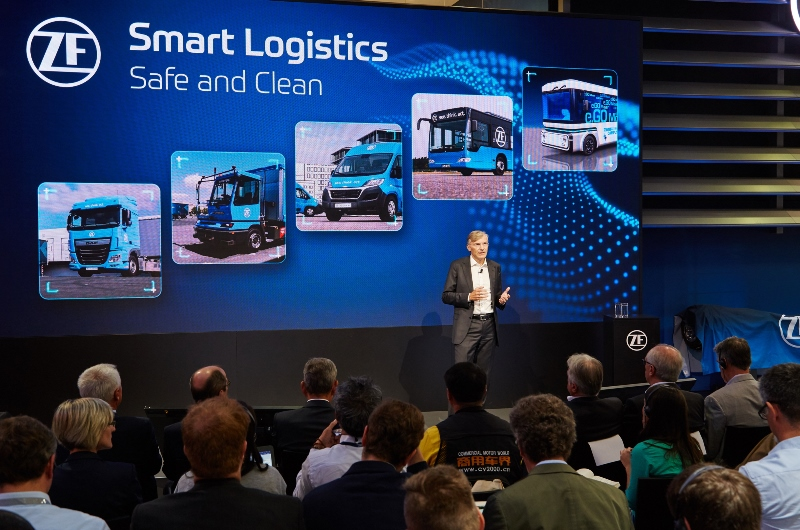 ZF, çevreci ve otonom lojistik çözümlerini tanıttı