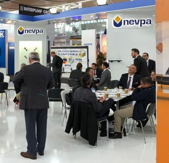 Nevpa, yeni ürünleriyle IAA Fuarı'ndaydı