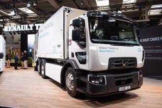 Renault Trucks, IAA 2018'de Z.E. elektrikli serisini tanıttı