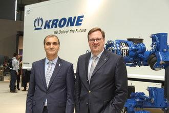 Krone'den IAA Hannover Ticari Araçlar Fuarı'nda önemli mesajlar