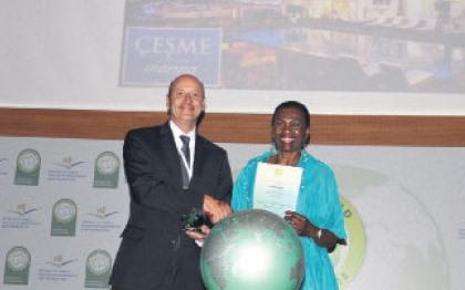 Çeşme Marina'ya Yeşil Dünya ödülü