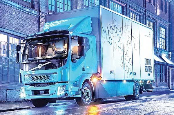 Volvo'nun e-kamyonları geliyor