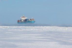 Venta Maersk adlı kargo gemisinin tarihi seferi sona erdi