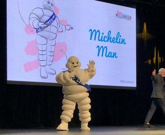 Michelin'in 'Lastik Adamı' Bibendum, 'Milenyumun İkonu' seçildi