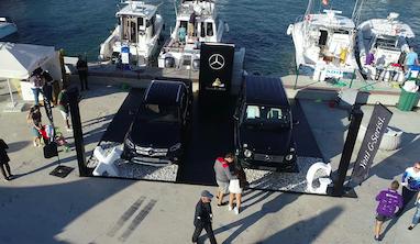 """Mercedes-Benz Alaçatı Uluslararası Fishing Turnuvası""""na renk kattı"""