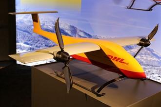DHL, drone ile tıbbi malzeme taşıyor