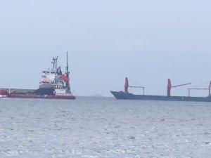 İstanbul Yenikapı açıklarında iki gemi çatıştı