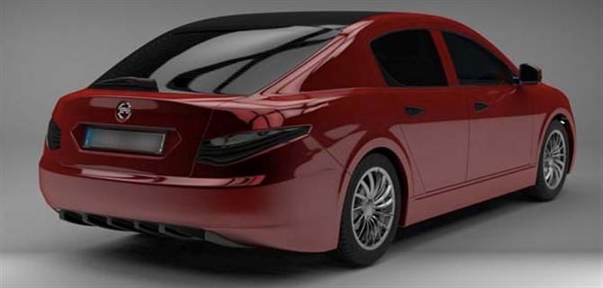 Elektrikli yerli otomobil ilk kez görüntülendi!
