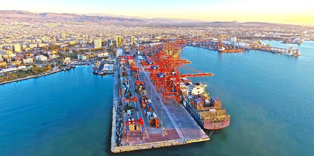 Mersin Limanı konteyner hacmiyle zirveye çıktı