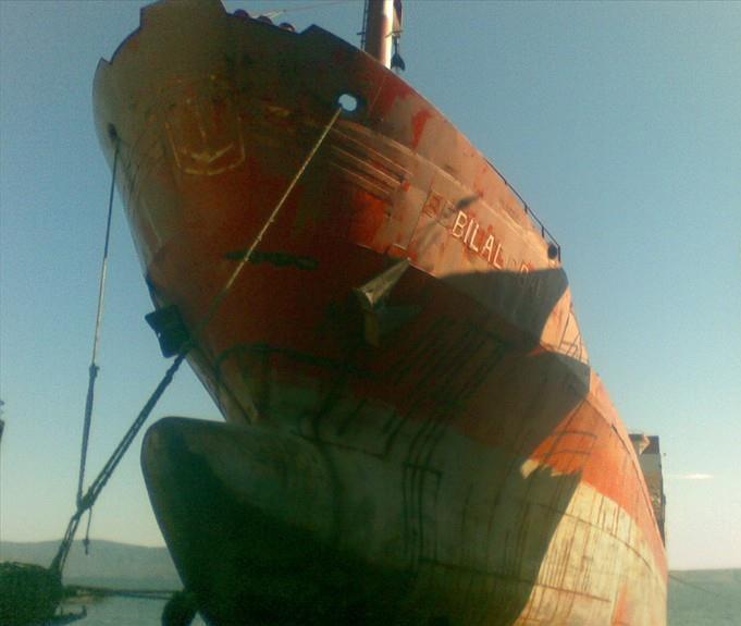 """88 metre derinlikteki gemiye """"satılamaz"""" kararı"""