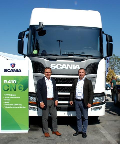 Scania, Lojistik Zirvesi'nde CNG'li modelini tanıttı