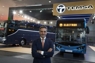 Akıllı şehirlere hazırlanan TEMSA 3 aracıyla Persontrafik Fuarı'nda
