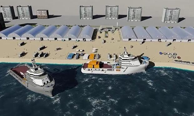 Giresun Limanı'na 5 yılda 240 milyon lira yatırım