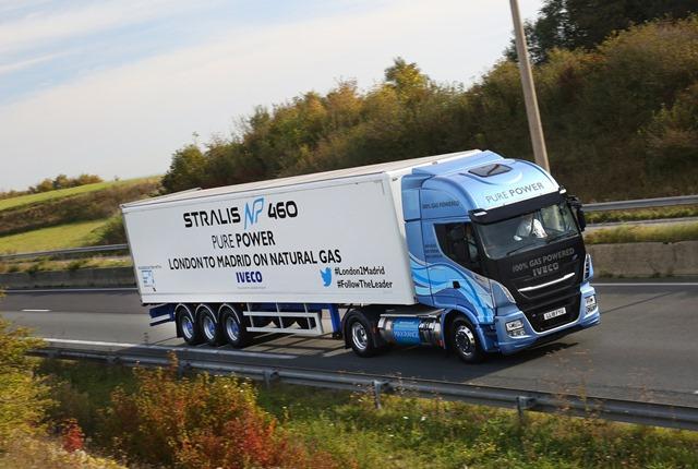 IVECO Stralis, tek depo LNG ile 1728 km yol aldı