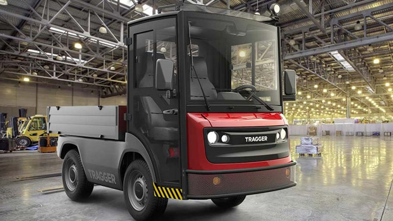 Yüzde 85'i yerli mini elektrikli kamyon