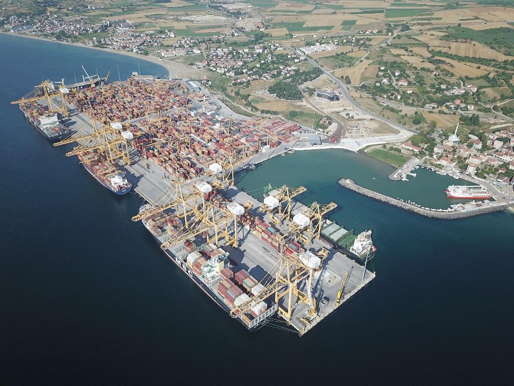 Asyaport, yeryüzündeki en büyük gemileri ağırlamaya hazır