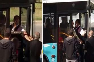 Gaziyi otobüse almayan şoföre men cezası