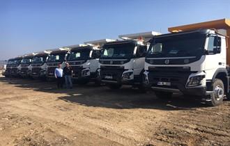 Güvensoy İnşaat da Volvo Trucks'ı tercih etti