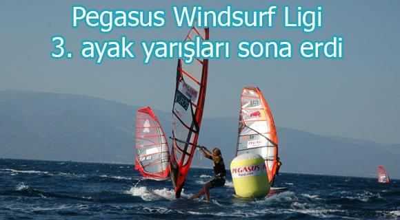 Pegasus Windsurf Ligi 3. ayak yarışları sona erdi