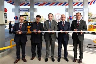 İpragaz Otogaz İstasyon zincirinin en yeni halkası Ankara'da açıldı