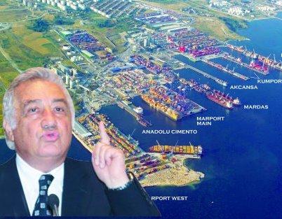 Ambarlı limanlar bölgesinin mimarı emekliye ayrıldı