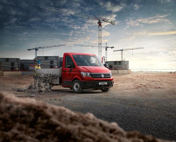 Yeni Volkswagen Crafter Pikap ticaretin yükünü hafifletecek