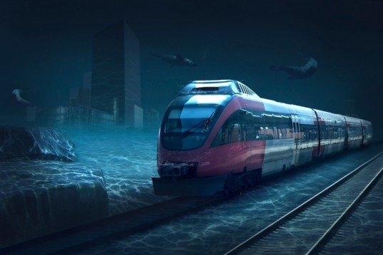 Çin, yeni bir dönem başlatıyor: Su altında hızlı tren