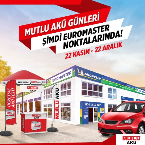 Euromaster ve Mutlu Akü'den Ortak Kampanya!