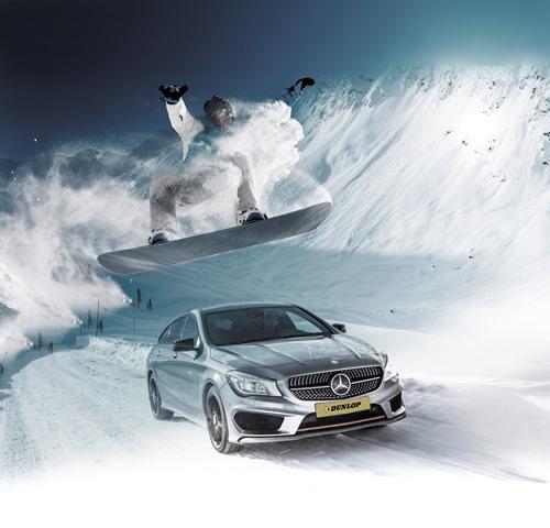 Dunlop'un Yeni Kış Lastiği  SP Winter Sport 500