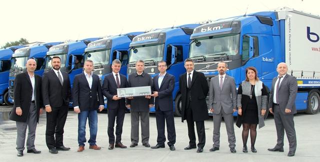 BKM Lojistik yine Volvo Trucks'ta karar kıldı