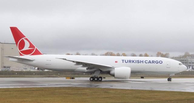 Turkish Cargo, 5. Boeing 777F'i teslim aldı